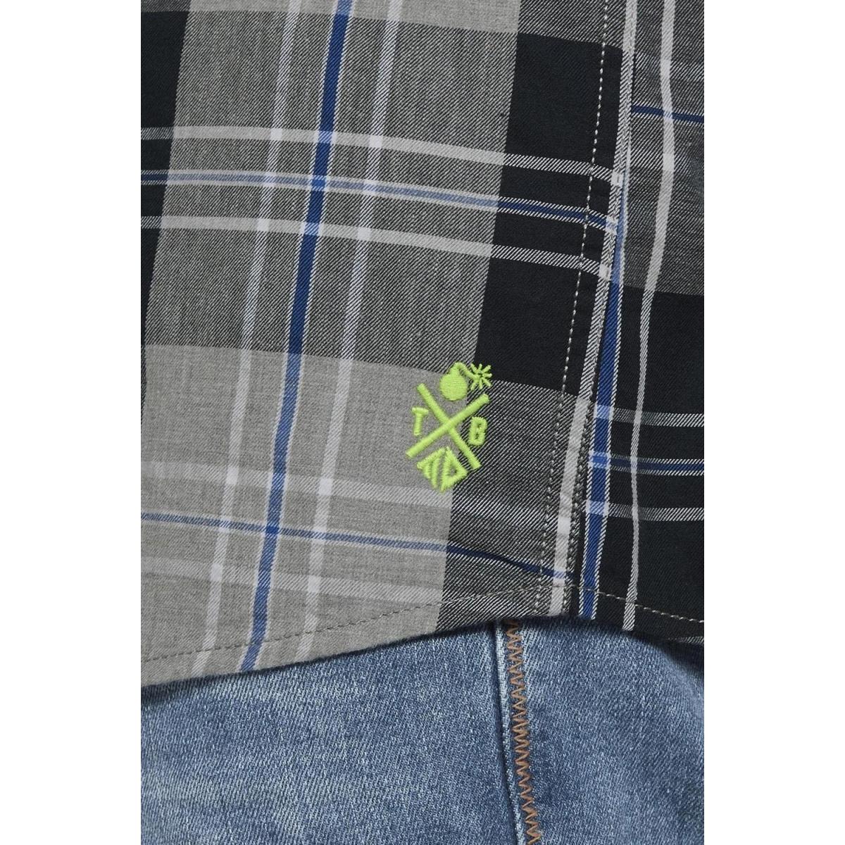geruit overhemd 1018329xx12 tom tailor overhemd 21570