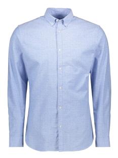Jack & Jones Overhemd JPRBLALOGO STRETCH AOP SHIRT L/S 12169911 Cashmere Blue/SLIM FIT