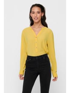 Jacqueline de Yong Blouse JDYTRACK L/S BLOUSE WVN NOOS 15149951 Misted Yellow