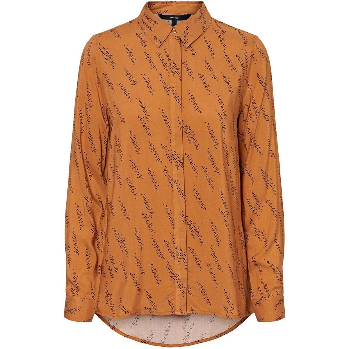 vmgunhild ls shirt wvn ga 10225819 vero moda blouse meerkat/aop gunhil