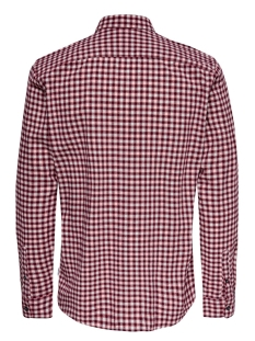 onstony ls yd check shirt re 22012331 only & sons overhemd pompeian red