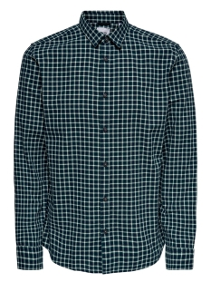 Only & Sons Overhemd ONSTONY LS YD CHECK SHIRT RE 22012331 Posy Green