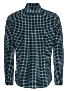 onstony ls yd check shirt re 22012331 only & sons overhemd posy green