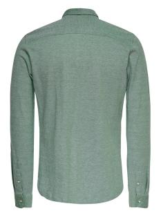 onscuton ls knitted melange shirt re 22009904 only & sons overhemd medium green
