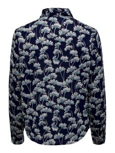 jdymie l/s shirt wvn 15205832 jacqueline de yong blouse navy blazer/flowers