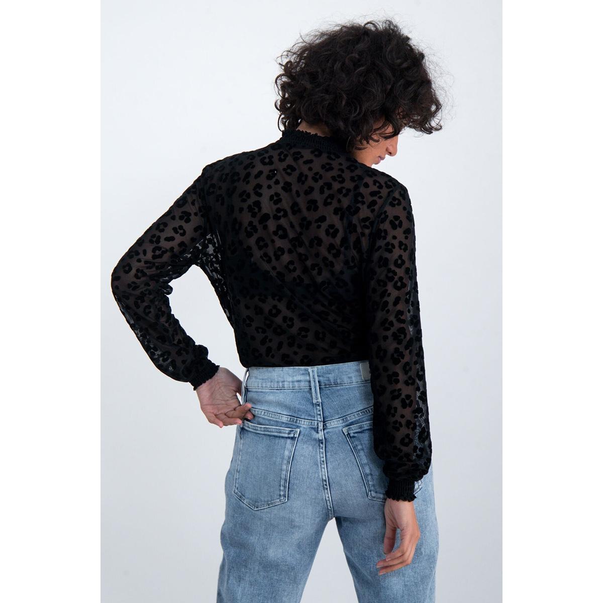 mesh top m00036 garcia t-shirt 60 black