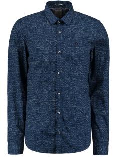 Garcia Overhemd OVERHEMD MET ALL OVER PRINT M01031 3023 BLUE SPRING