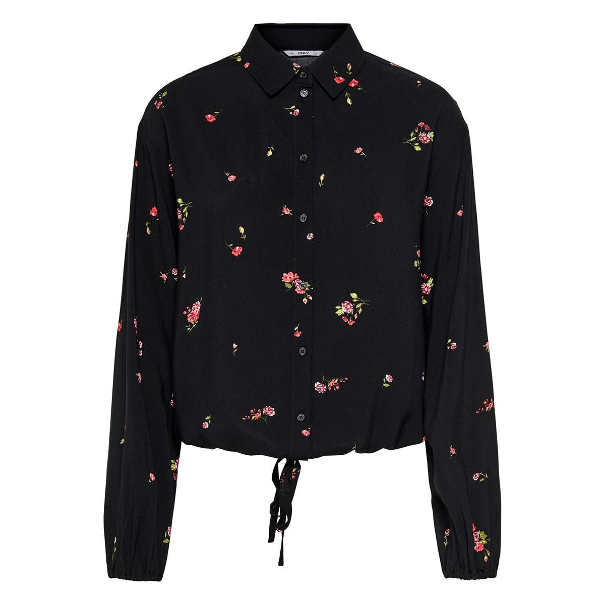 onlalisa life ls shirt wvn 15197282 only blouse black/red