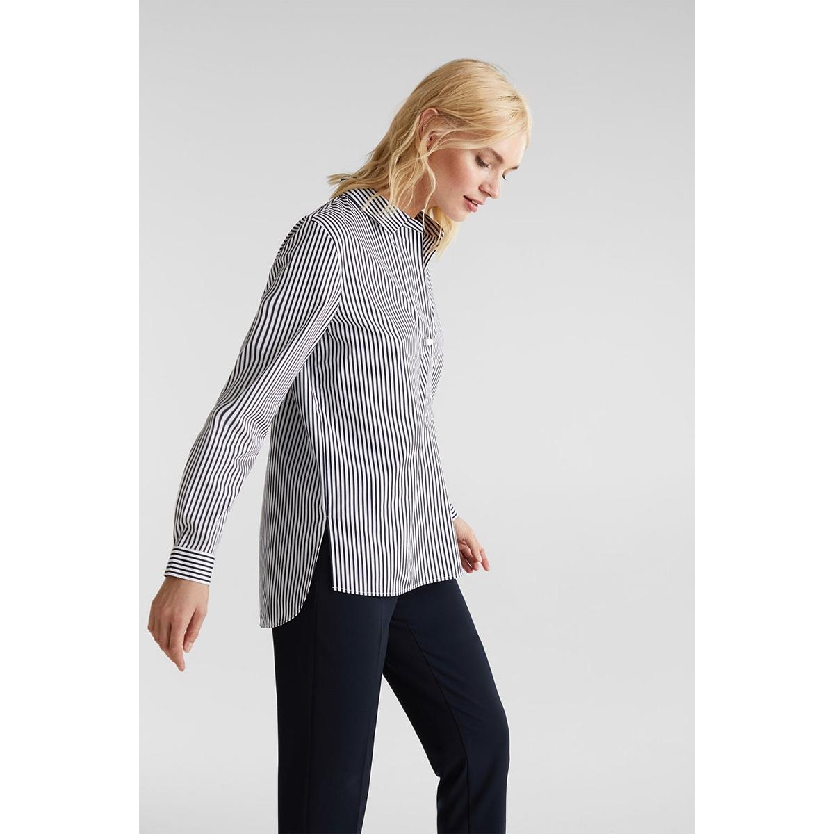 gestreepte blouse met stretch 020eo1f314 esprit collection blouse e111