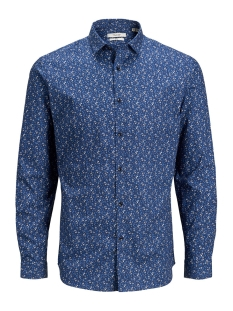 Jack & Jones Overhemd JPRBLABLACKPOOL SHIRT L/S S20 STS 12168452 Dark navy/SLIM FIT