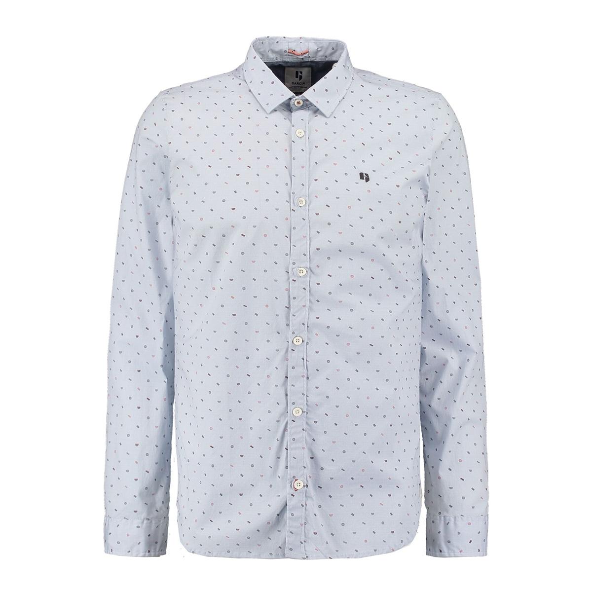 overhemd met all over print n01231 garcia overhemd 2255 river stone