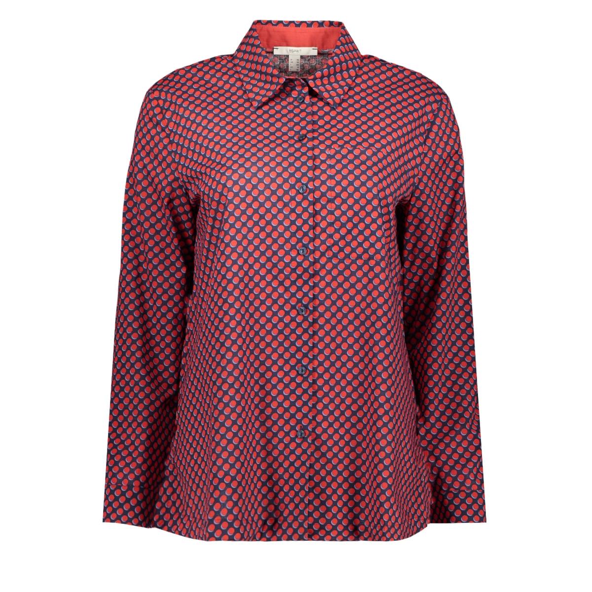 blouse met stippenpatroon 020ee1f305 esprit blouse e403
