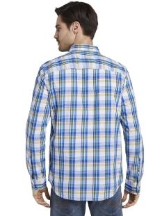 geruit hemd 1017356xx10 tom tailor overhemd 22059