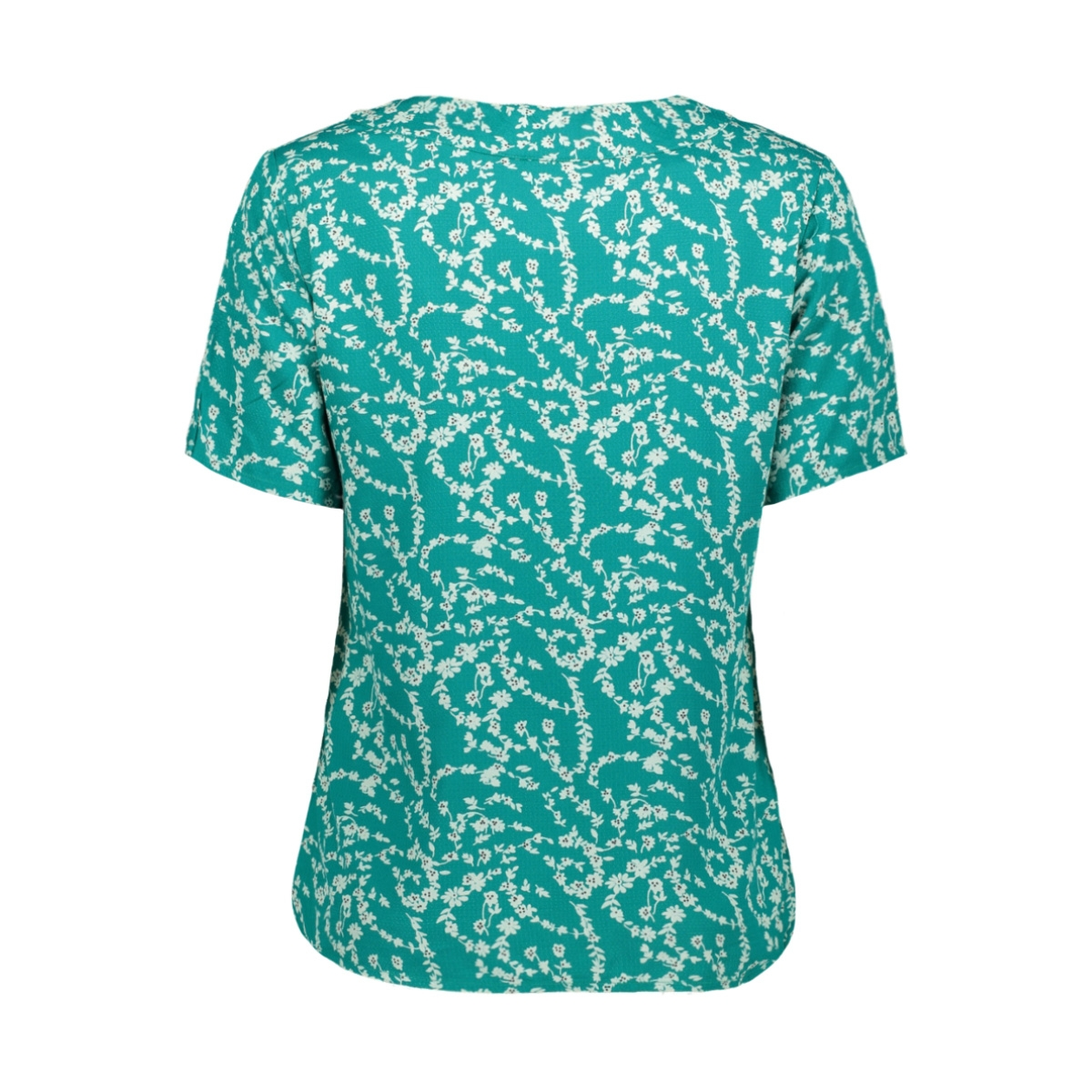 pcnadin ss top 17101854 pieces t-shirt quetzal green/silhouette