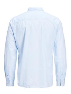 jjetape detail shirt l/s s20 sts 12166546 jack & jones overhemd cashmere blue/slim fit