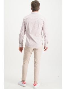 shirt aop stretch mc13 0100 08 haze & finn overhemd red fence