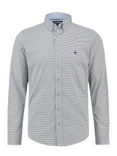 shirt aop regular mc13 0110 05 haze & finn overhemd white glamping