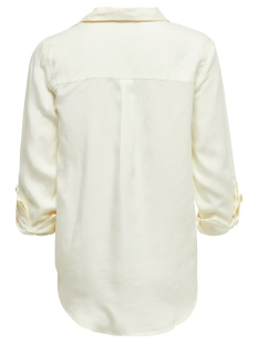 onlkarla l/s shirt wvn 15197185 only blouse cloud dancer