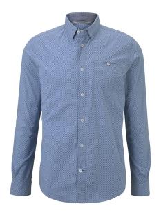 overhemd met print 1017360xx10 tom tailor overhemd 22536