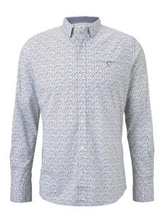 overhemd met print 1017360xx10 tom tailor overhemd 22073