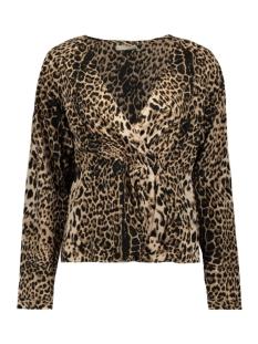 pcrosia ls top d2d 17108022 pieces blouse black