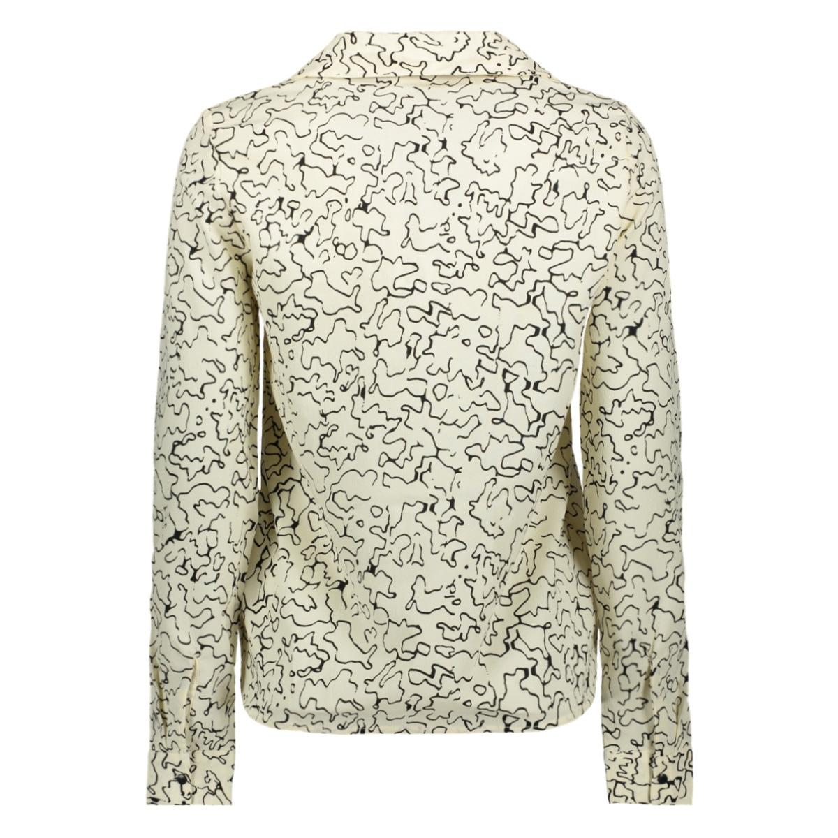 nmalena l/s shirt 27010990 noisy may blouse ecru