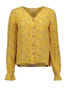 Pieces Blouse PCLANNI LS TOP D2D 17105368 Artisans Gold/FLOWERS