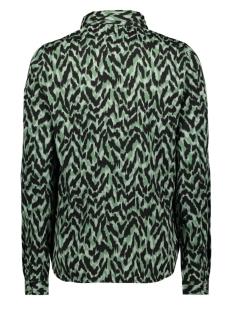 vmathen l/s shirt vip ga 10235611 vero moda blouse green milieu/anna