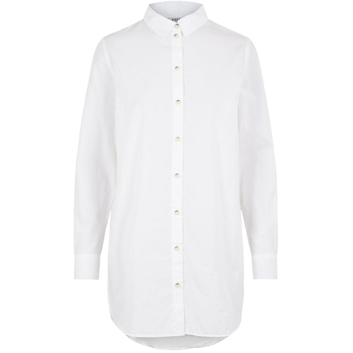 pcnoma ls long shirt pb bc 17101891 pieces blouse cloud dancer