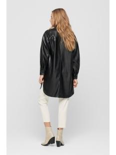 onlamaze ls oversized pu shirt 15212462 only tuniek black
