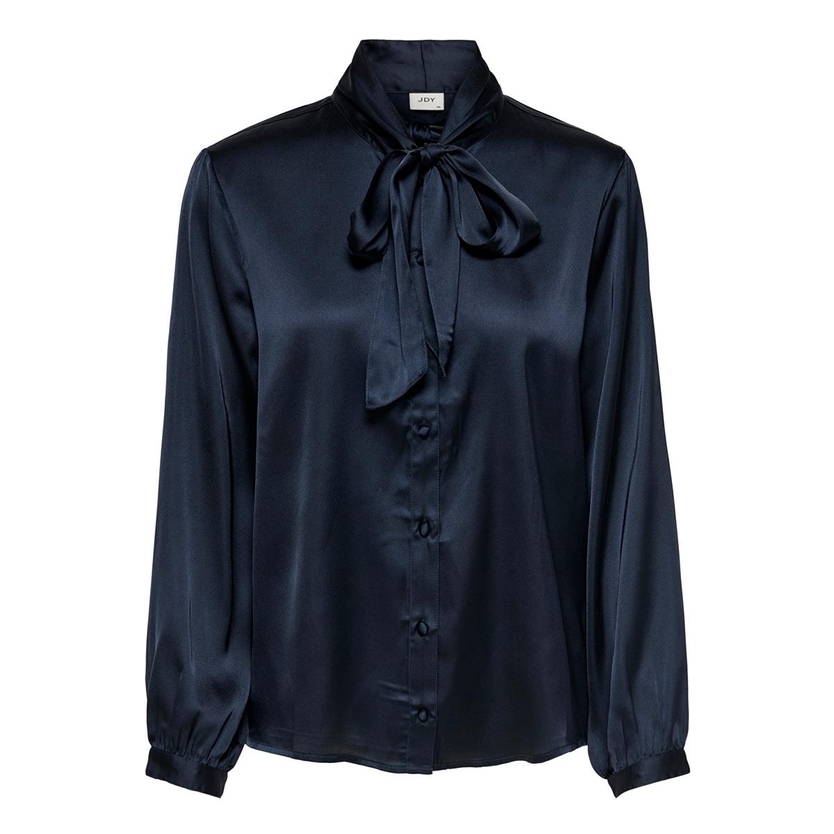jdyfiffi l/s bow shirt wvn exp 15195614 jacqueline de yong blouse sky captain