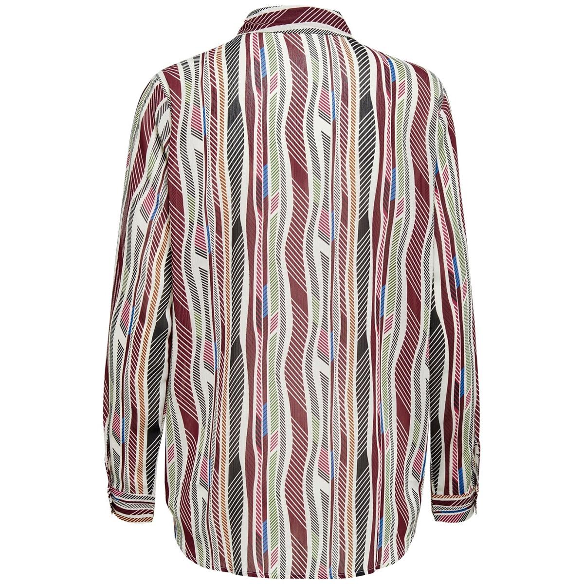 jdysolis l/s shirt wvn 15206758 jacqueline de yong blouse cloud dancer/multicolor