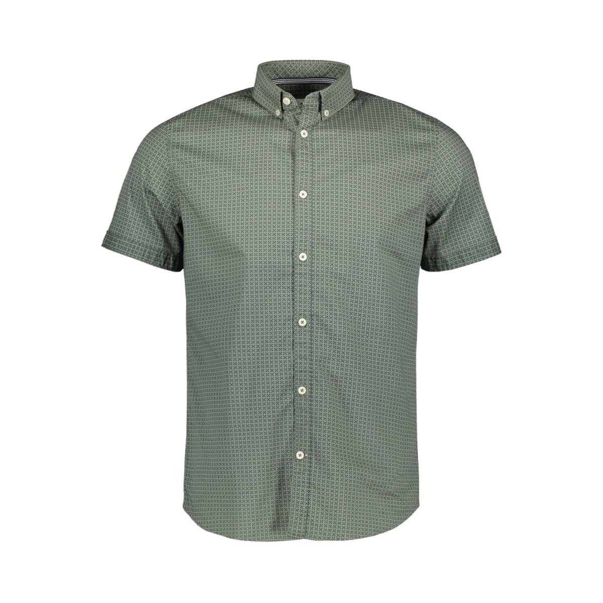 overhemd met korte mouwen 1020622xx10 tom tailor overhemd 22298