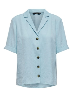 onlsky s/s shirt solid wvn 15181018 only blouse skyway