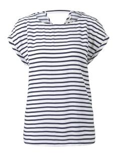 Tom Tailor T-shirt T SHIRT MET PRINT EN UITSPARING 1016490XX71 21355