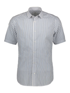 Only & Sons Overhemd ONSSANE SS STRIPED POPLIN SHIRT 22015476 White