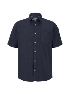 Tom Tailor Overhemd FIJN SHIRT MET KORTE MOUWEN 1019632XX10 10334
