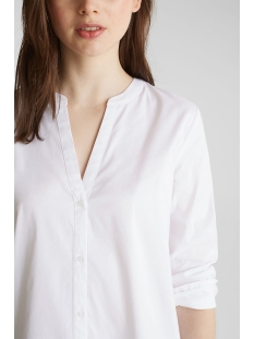 lange blouse met henley hals 030eo1f311 esprit collection blouse e100