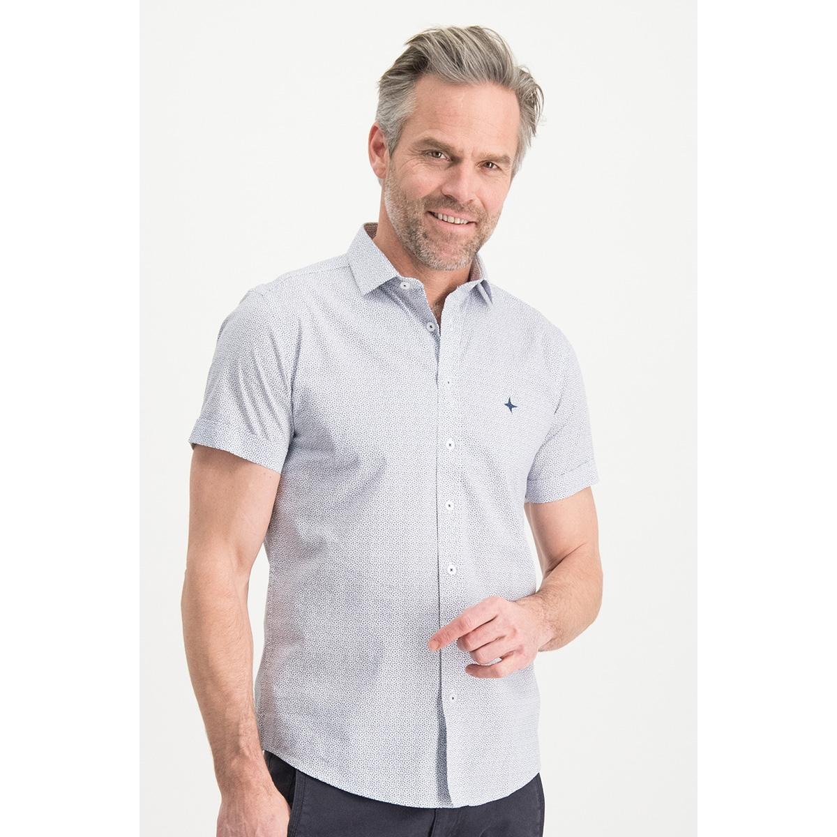 shirt aop stretch mc13 0105 08 haze & finn overhemd la fleur