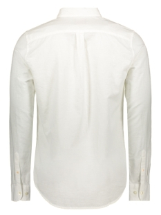 button down l s shirt m4010017a superdry overhemd vidid white