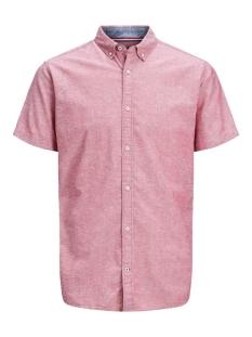 Jack & Jones Overhemd JJESUMMER SHIRT S/S S20 STS 12163857 Rio Red/SLIM FIT