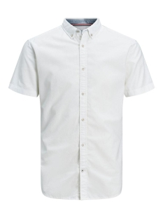 Jack & Jones Overhemd JJESUMMER SHIRT S/S S20 STS 12163857 White/SLIM FIT