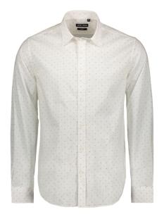 Antony Morato Overhemd SHIRT LONG SLEEVES MMSL00587 1000 WHITE DOTS