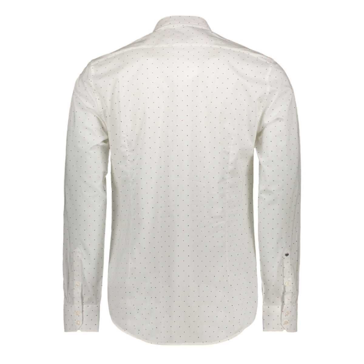 shirt long sleeves mmsl00587 antony morato overhemd 1000 white dots