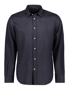 Antony Morato Overhemd SHIRT LONG SLEEVES MMSL00587 7073 BLUE INK