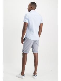 shirt aop stretch s mc13 0105 01 haze & finn overhemd 3d structure