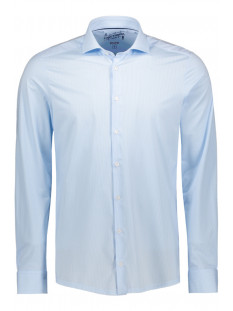 Pure H. Tico Overhemd FUNCTIONAL SHIRT LONGSLEEVE 4028 21750 160 LIGHT BLUE STRIPED
