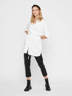 pcnubia ls long shirt 17102377 pieces tuniek bright white