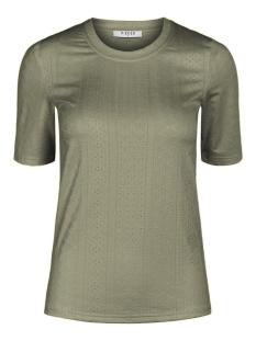 Pieces T-shirt PCNUBIA 2/4 TOP 17102380 Deep Lichen Green
