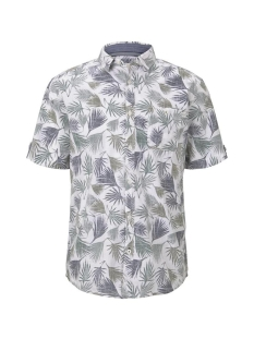 Tom Tailor Overhemd SHIRT MET TROPISCHE PRINT 1018640XX10 22598